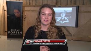 Ariane Fortin prépare l'après-carrière