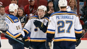 Blues 3 - Coyotes 1