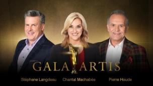 Les nominations à RDS pour le Gala Artis