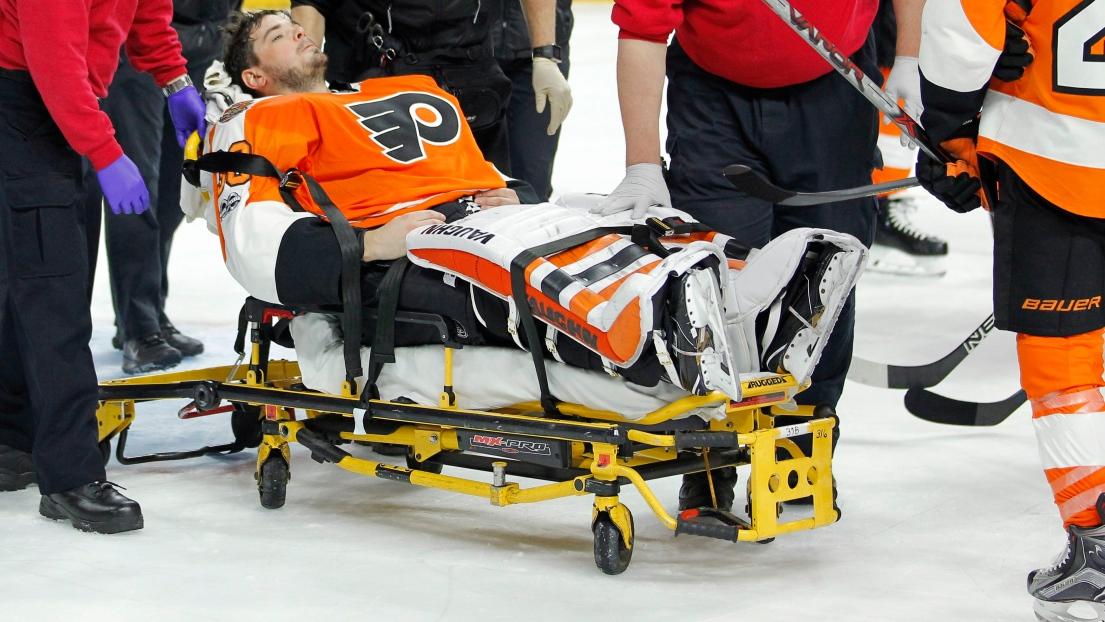 Neuvirth obtient son congé de l'hôpital — Flyers