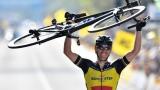 Philippe Gilbert remporte la 101e édition du Tour des Flandres.
