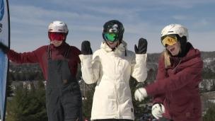 Les soeurs Dufour-Lapointe tirent un trait sur leur saison