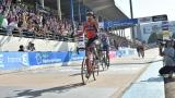 Greg Van Avermaet vainqueur sur le vélodrome de Roubaix