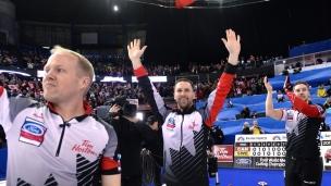 Gushue et le Canada sont champions