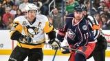 Sidney Crosby et Brandon Dubinsky