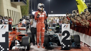 Sebastian Vettel a utilisé la combinaison gagnante à Bahreïn