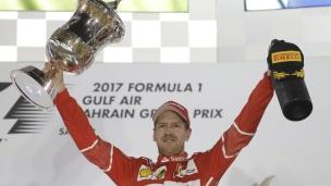 Sebastian Vettel signe une 2e victoire en 3 courses à Bahreïn