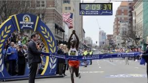 Geoffroy Kirui et Edna Kiplagat champions à Boston!