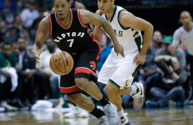 NBA : les Raptors rebondissent à Milwaukee
