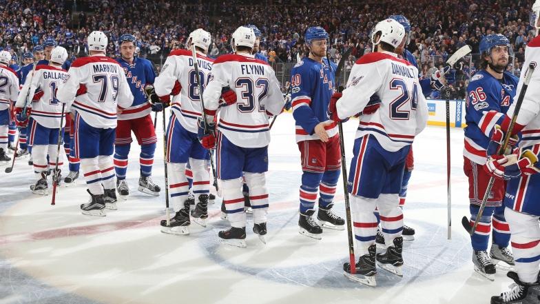 Le Canadien a été éliminé par les Rangers