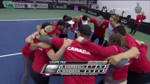 Andreescu et Abanda font avancer le Canada