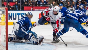 Capitals 2 - Maple Leafs 1 (Prolongation)