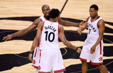 NBA : les Raptors à une victoire du 2e tour