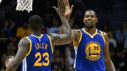 Draymond Green et Kevin Durant
