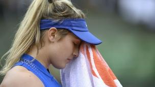 Eugenie Bouchard encore défaite au 1er tour