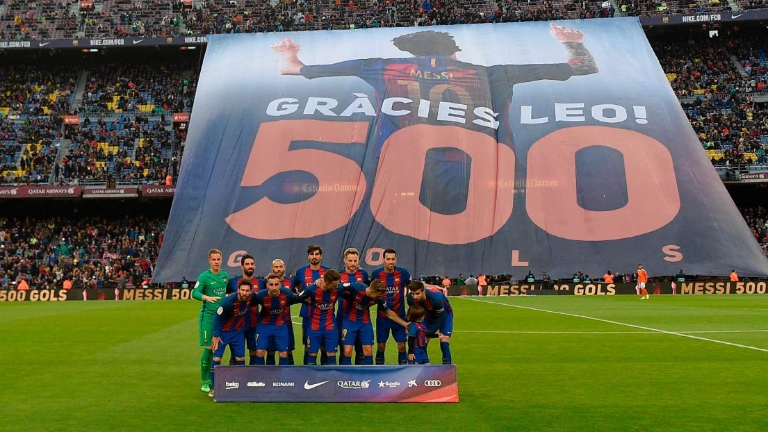 Le Barça de Messi atomise Osasuna, relégué — Liga