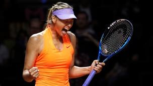 Retour réussi pour Sharapova