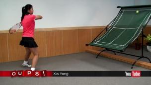 Oups! Un gadget pour les joueurs de tennis solitaires