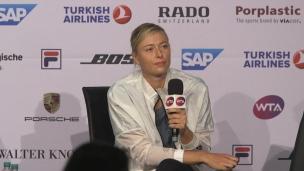 Sharapova répond aux commentaires d'Eugenie