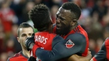 Raheem Edwards et Jozy Altidore