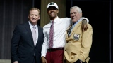 Roger Goodell, Kevin King et Jim Taylor