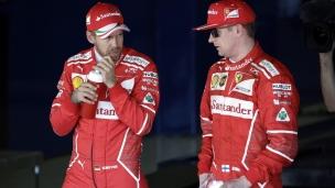 Une première ligne Ferrari