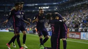 Espanyol 0 - F.C. Barcelone 3