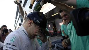 Bottas résiste à Vettel pour une 1re victoire