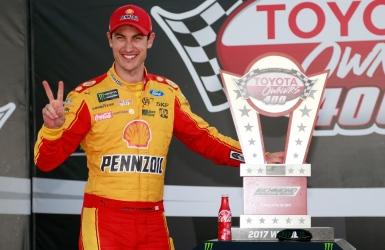 NASCAR : Logano triomphe à Richmond