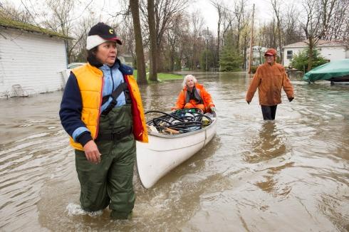 Inondation au Québec