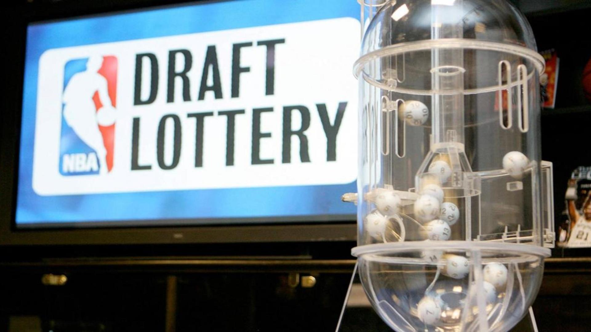 Logo de la loterie du ''NBA Draft''