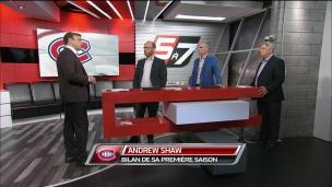 Quel bilan à faire de la 1re saison d'Andrew Shaw?