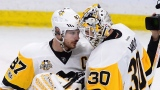 Sidney Crosby et Matt Murray