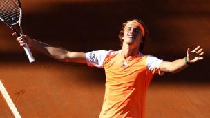 Zverev atteint sa première finale en Masters 1000