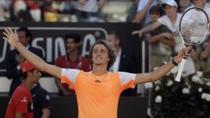 Un 1er titre en carrière pour Alexander Zverev!