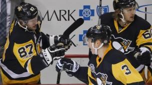 Sénateurs 0 - Penguins 7