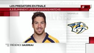 Frédérick Gaudreau réalise un rêve