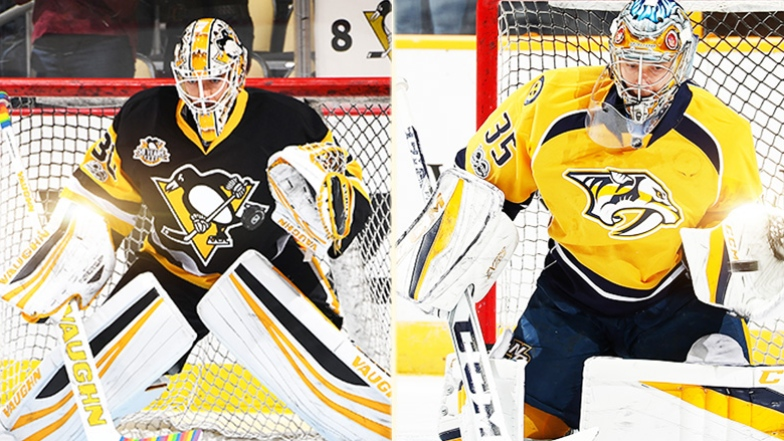 Matt Murray et Pekka Rinne