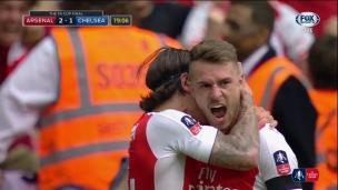 Ramsey réplique et redonne l'avance à Arsenal