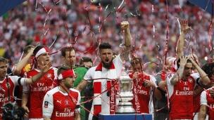 Arsenal met la main sur la FA Cup