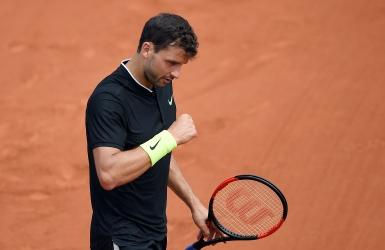 Roland-Garros : enfin un gain pour Dimitrov