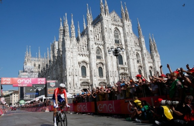 Tom Dumoulin remporte le Tour d'Italie