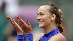 Retour à la compétition réussi pour Kvitova