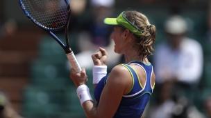 Makarova élimine Kerber dès le 1er tour!
