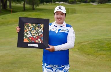 LPGA : Shanshan Feng l'emporte par un coup