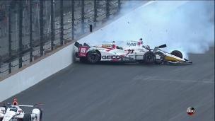 2e accident majeur au Indy-500; 5 coureurs impliqués