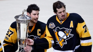 Sidney Crosby et Evgeni Malkin