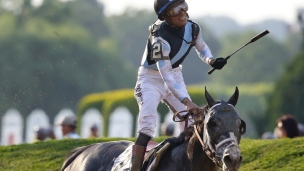 Tapwrit remporte le Belmont Stakes
