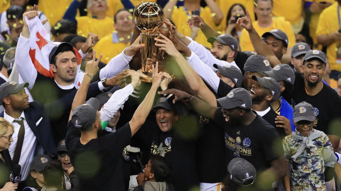 Les Warriors sont champions de la NBA pour la deuxième fois en trois ans
