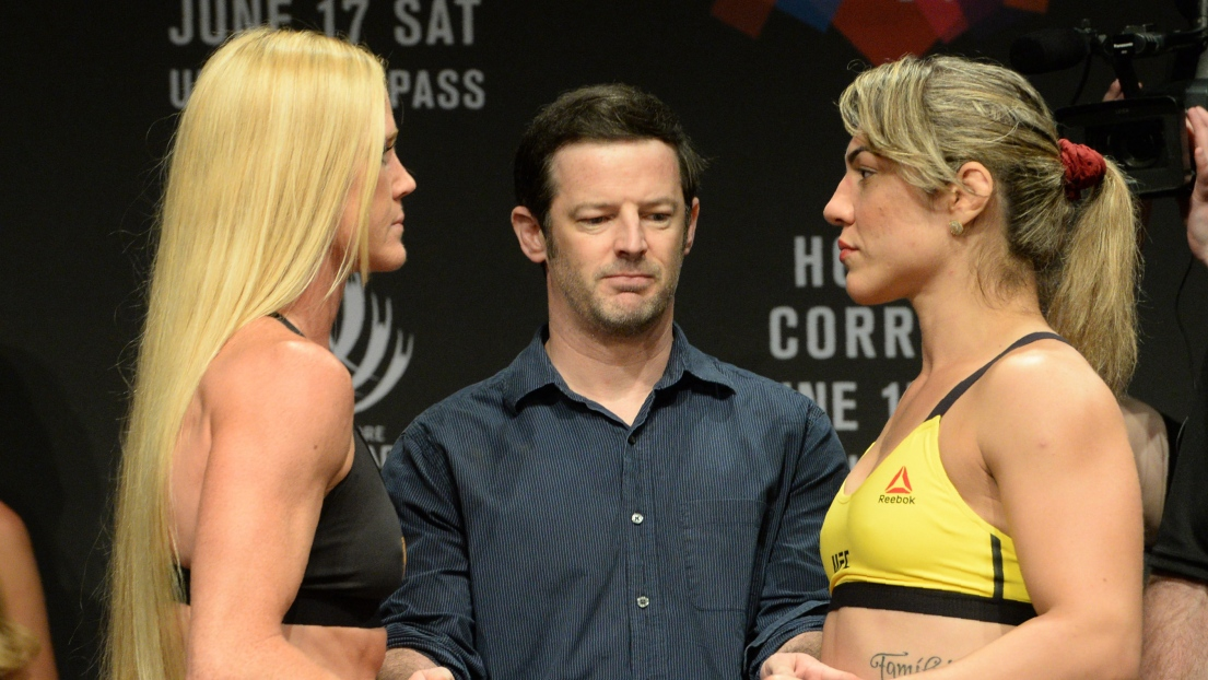 Holly Holm et Bethe Correia